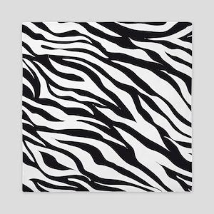 Zebra Animal Print Queen Duvet