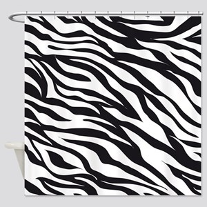 Zebra Animal Print Shower Curtain
