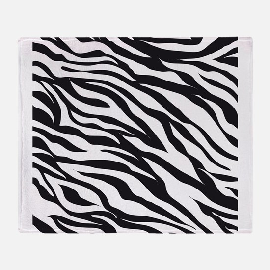 Zebra Animal Print Throw Blanket