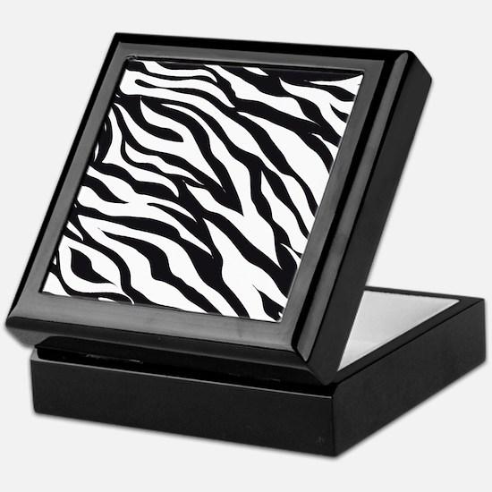 Zebra Animal Print Keepsake Box