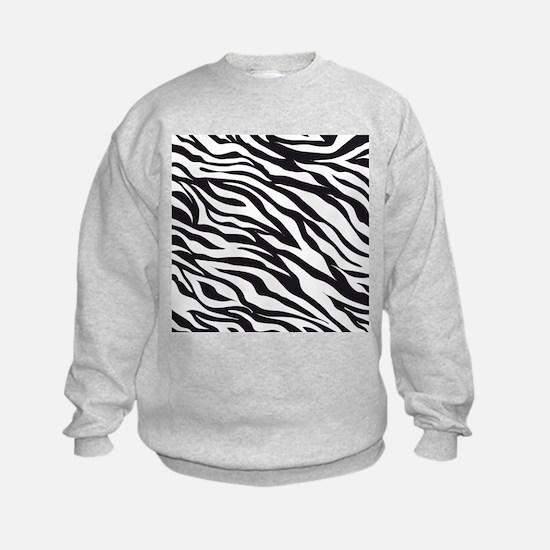 Zebra Animal Print Sweatshirt