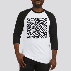 Zebra Animal Print Baseball Jersey
