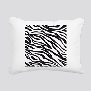 Zebra Animal Print Rectangular Canvas Pillow