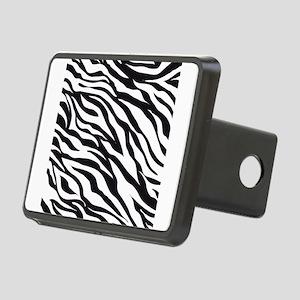Zebra Animal Print Rectangular Hitch Cover