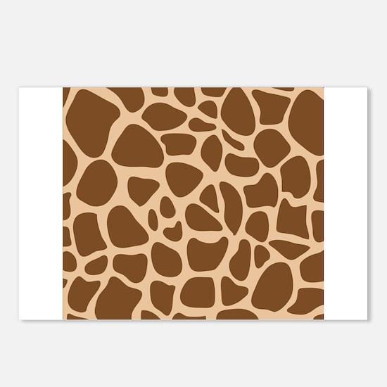 Giraffe Animal Print Postcards (Package of 8)