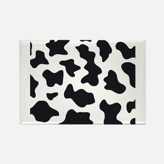 Cow Animal Print Rectangle Magnet