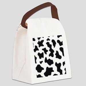 Cow Animal Print Canvas Lunch Bag