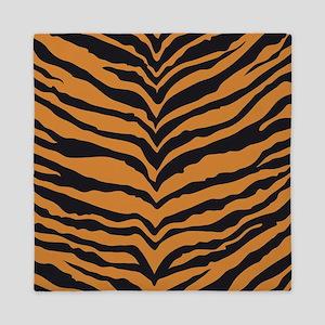 Tiger Animal Print Queen Duvet