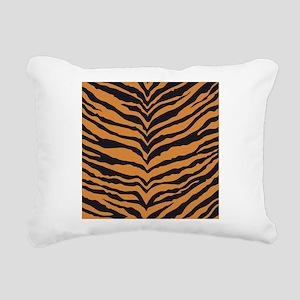 Tiger Animal Print Rectangular Canvas Pillow