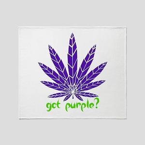 Got Purple? Throw Blanket