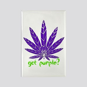 Got Purple? Rectangle Magnet