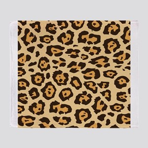Leopard Animal Print Throw Blanket