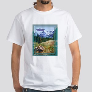 Picnic at Estes Park White T-Shirt
