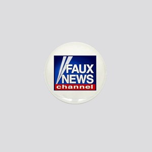 Faux News Channel - Mini Button