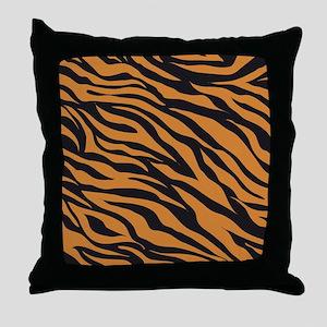 Tiger Animal Print Throw Pillow