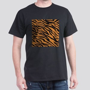 Tiger Animal Print Dark T-Shirt