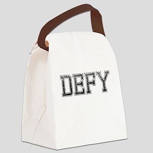 DEFY, Vintage Canvas Lunch Bag