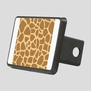 Giraffe Animal Print Rectangular Hitch Cover