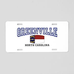 Greenville, North Carolina, NC, USA Aluminum Licen