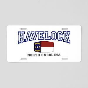 Havelock, North Carolina, NC, USA Aluminum License