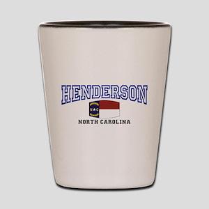Henderson, North Carolina Shot Glass