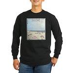 Beach Bums Long Sleeve Dark T-Shirt