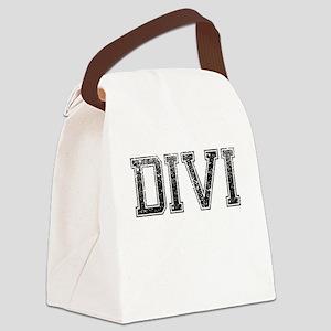 DIVI, Vintage Canvas Lunch Bag