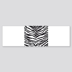 White Tiger Animal Print Sticker (Bumper)
