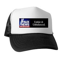 Faux News Channel - Black Trucker Hat