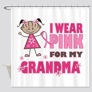 Wear Pink 4 Grandma Shower Curtain