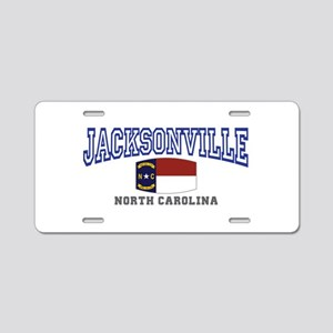 Jacksonville, North Carolina Aluminum License Plat