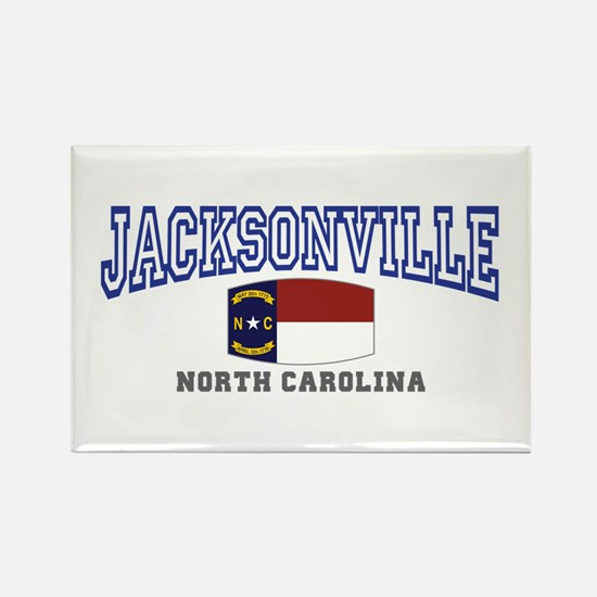 Jacksonville, North Carolina Rectangle Magnet