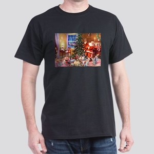 The Night Before Christmas Dark T-Shirt