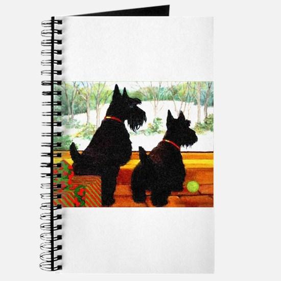 A Scotty Dog Christmas Journal