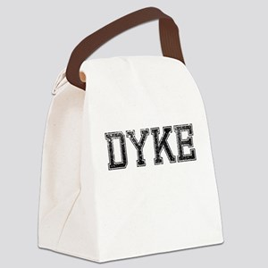 DYKE, Vintage Canvas Lunch Bag