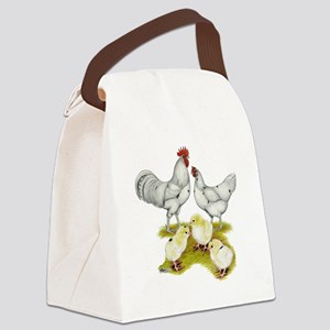 Austra White Family Canvas Lunch Bag