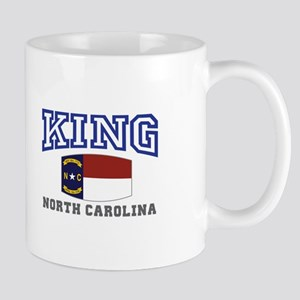 King, North Carolina Mug