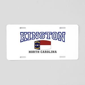 King, North Carolina Aluminum License Plate
