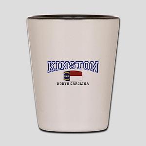 King, North Carolina Shot Glass