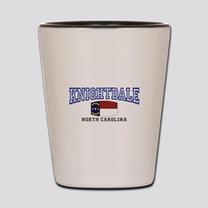 Knightdale, North Carolina Shot Glass