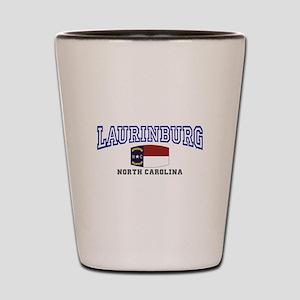 Laurinburg, North Carolina Shot Glass