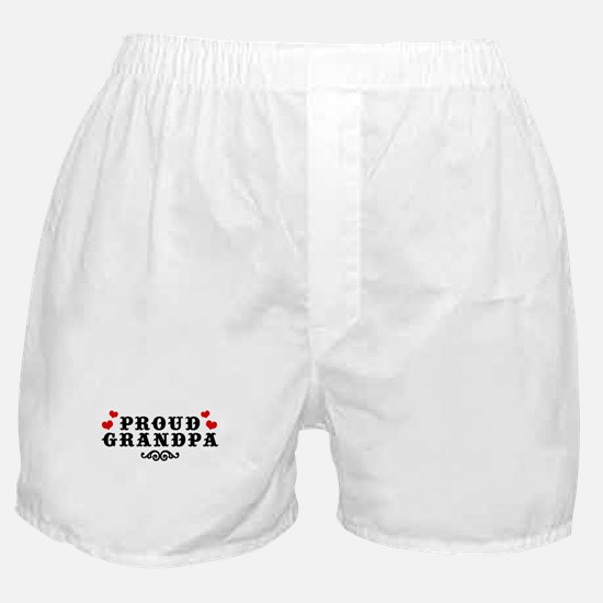 Proud Grandpa Boxer Shorts