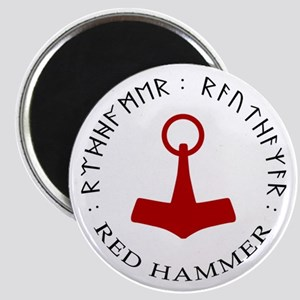 Red Hammer Magnet