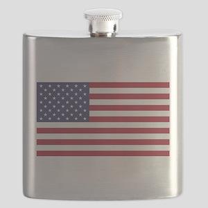 United States of America original colored fl Flask