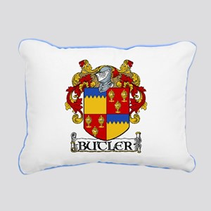 Butler Coat of Arms Rectangular Canvas Pillow