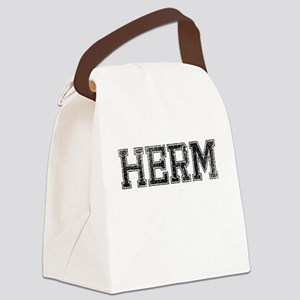 HERM, Vintage Canvas Lunch Bag