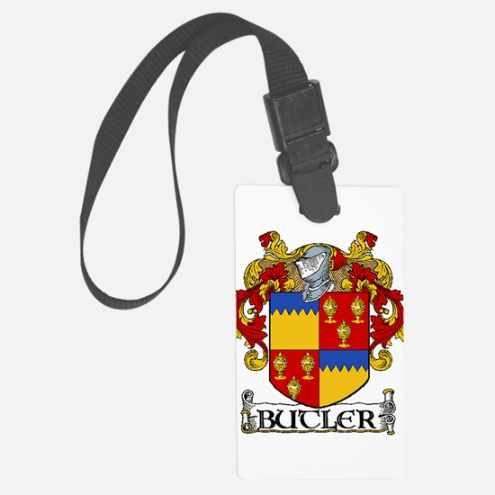 Butler Coat of Arms Luggage Tag