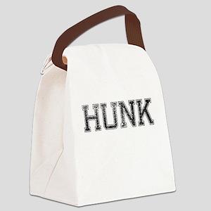 HUNK, Vintage Canvas Lunch Bag