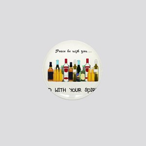 And With Your Spirits Mini Button