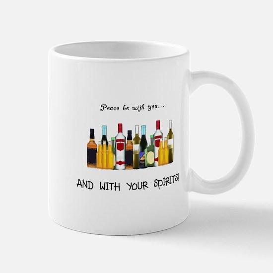 And With Your Spirits Mug